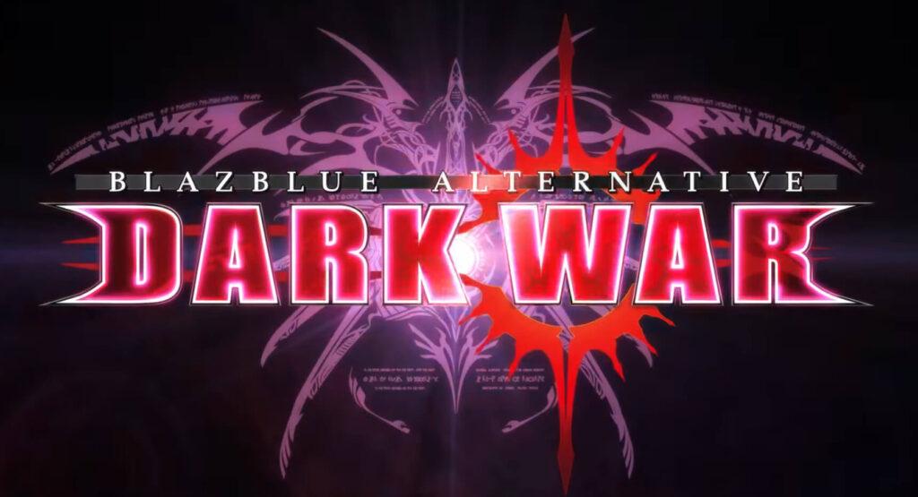 BlazBlue Dark War Logo