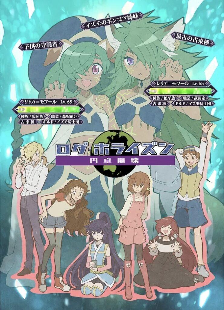 Log Horizon anime poster