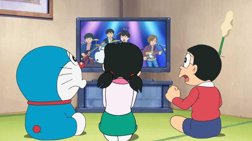 Doraemon, Shizuka, Nobita watch Official HIGE DANdism