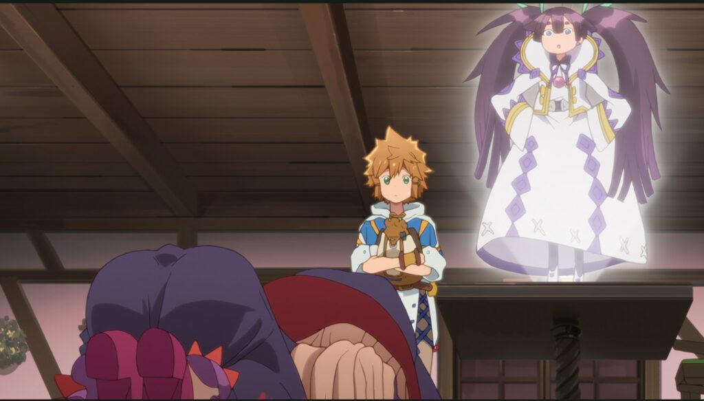 Beginning Scene from Dungeon Boonies anime episode 1
