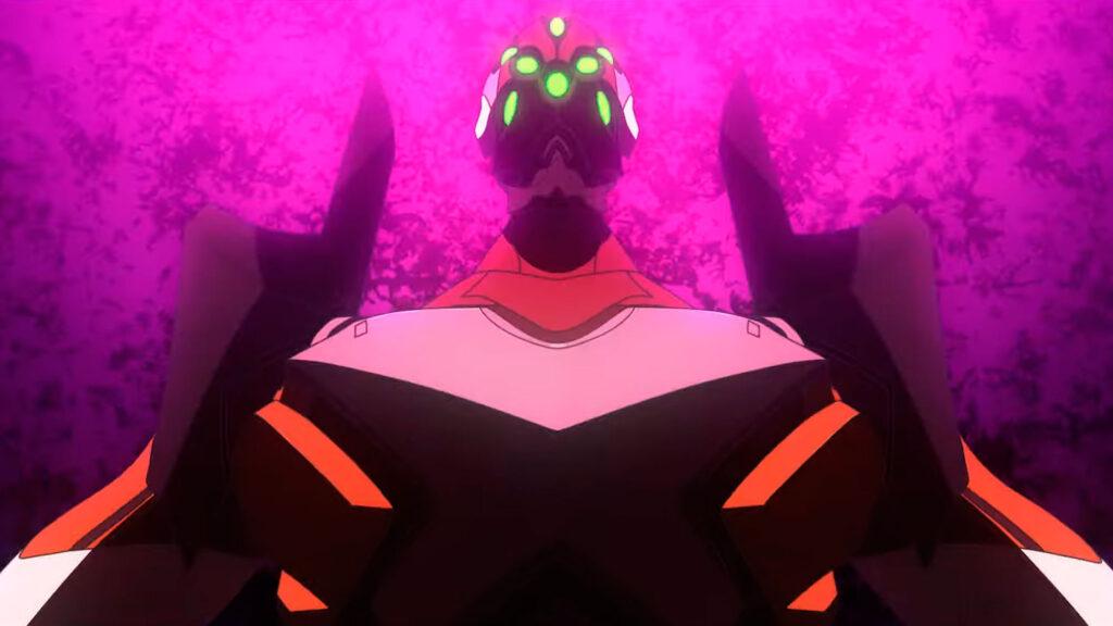 Evangelion movie screenshot