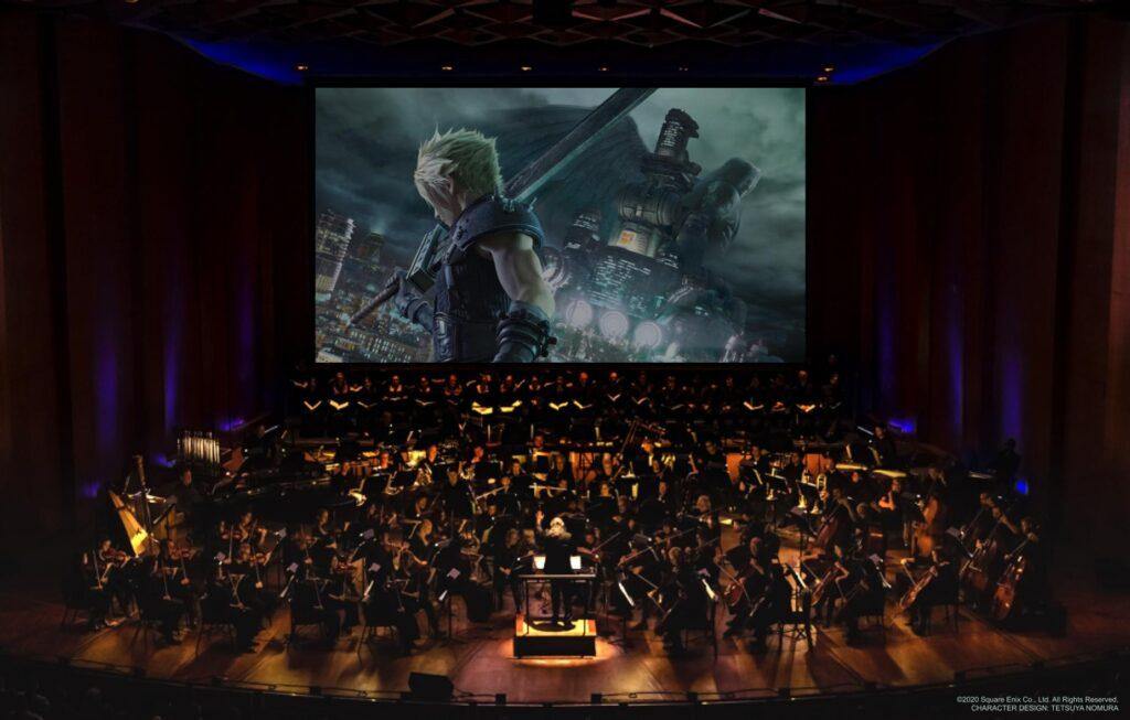 Final Fantasy VII Remake Orchestra Photo