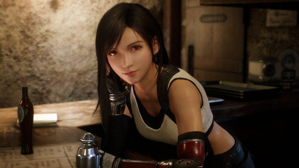 Tifa from Final Fantasy VII Remake