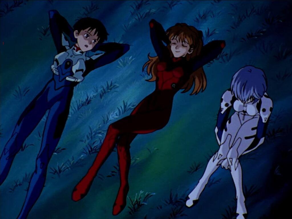 Screenshot from Neon Genesis Evangelion episode 11