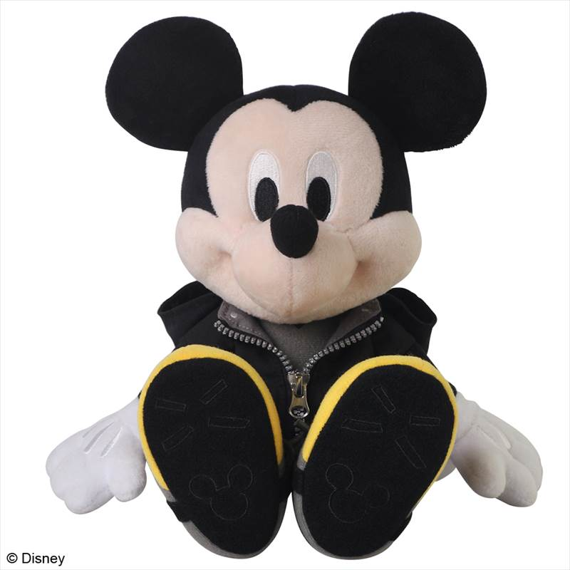 Kingdom Hearts Mickey Plush