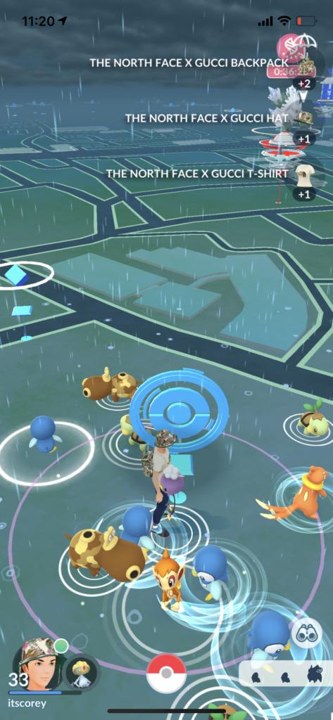 Pokemon Go iOS Gucci