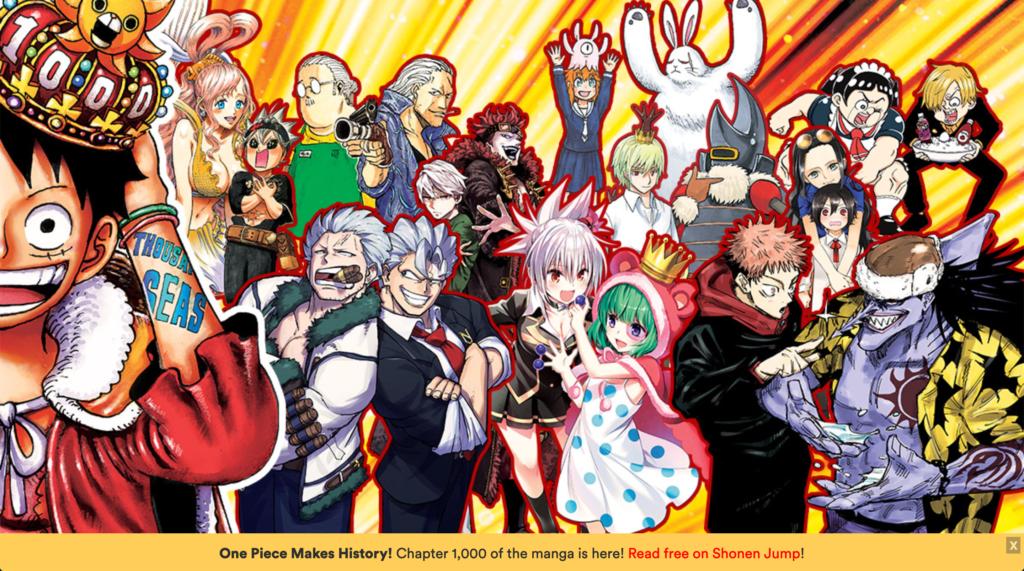 VIZ Media One Piece chapter 1000 celebrations