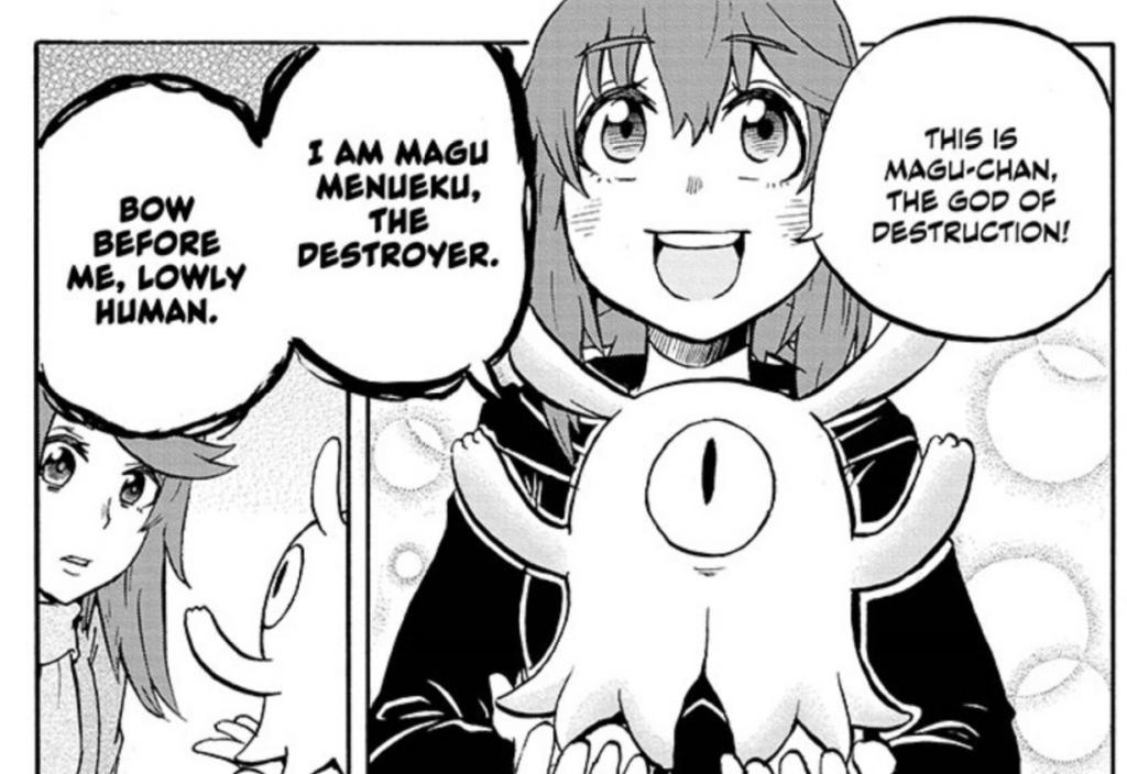 Magu-chan chapter 26 manga