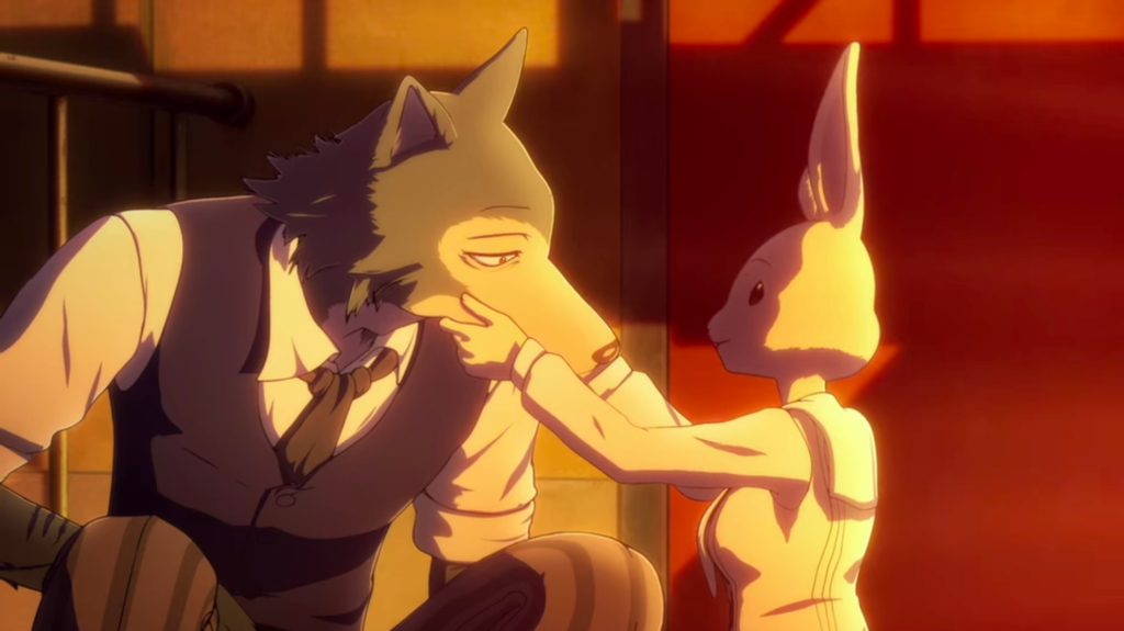 Screenshot from BEASTARS episode 13