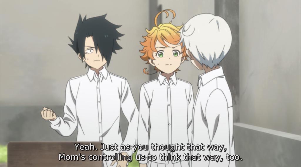 The Promised Neverland anime screenshot