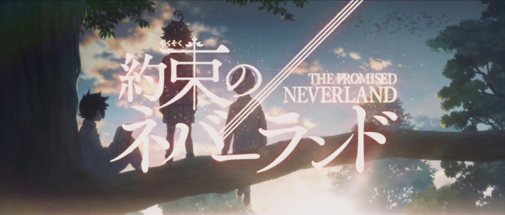 The Promised Neverland anime logo