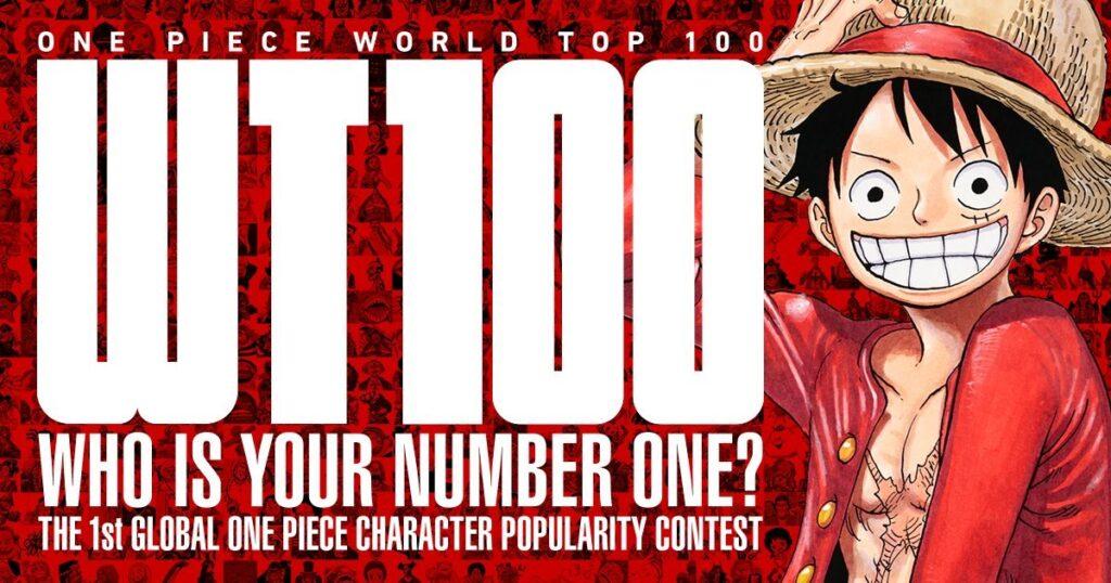 One Piece World Top 100 key visual