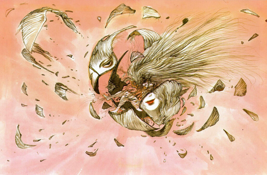 Angel's Egg Illustration by Yoshitaka Amano