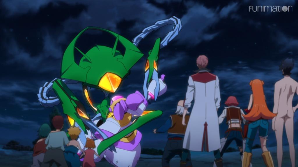 Back Arrow anime screenshot