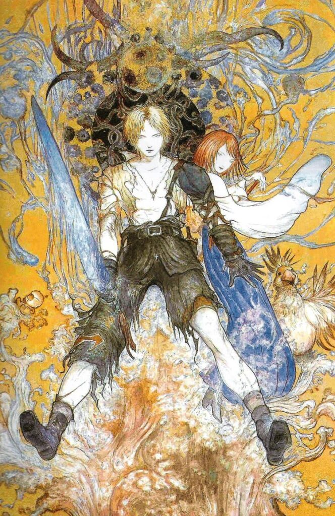 Final Fantasy X Yoshitaka Amano Illustration