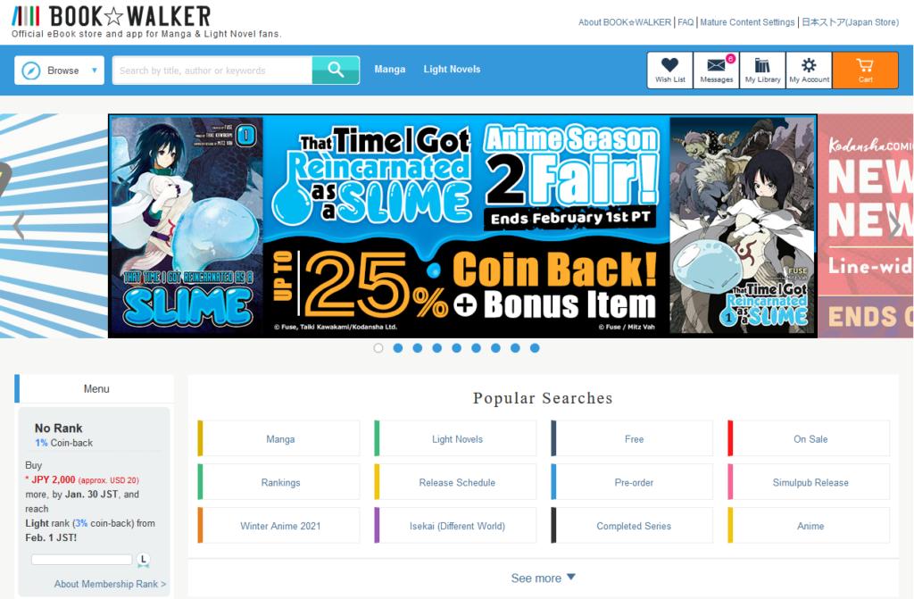 BookWalker Global