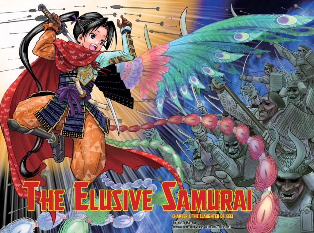 Screenshot from The Elusive Samurai Chapter 1