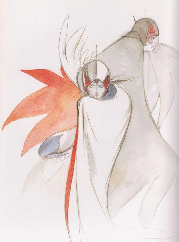 Yoshitaka Amano Gatchaman Illustration