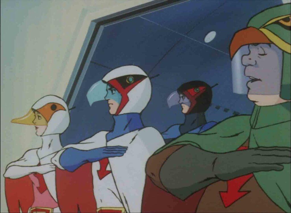 Gatchaman anime screenshot