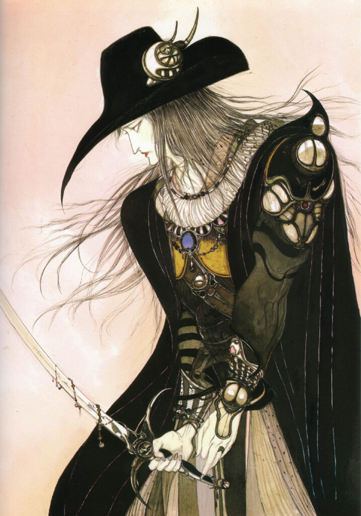 Yoshitaka Amano Final Fantasy VII Illustration