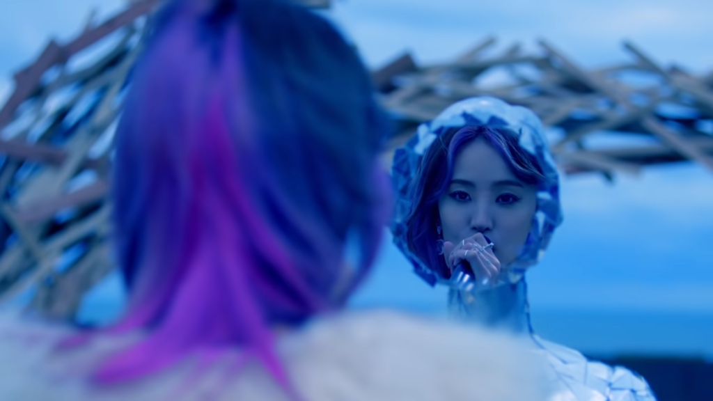 LiSA dawn music video