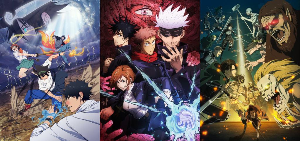 Anime titles of Studio MAPPA