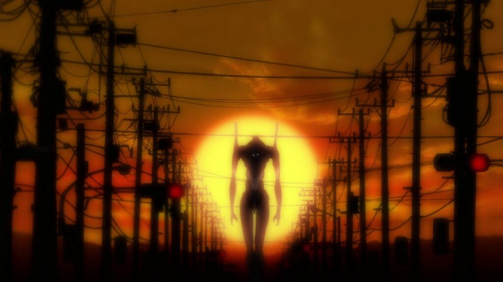 Screenshot from Evangelion 2.0: You Can (Not) Advance