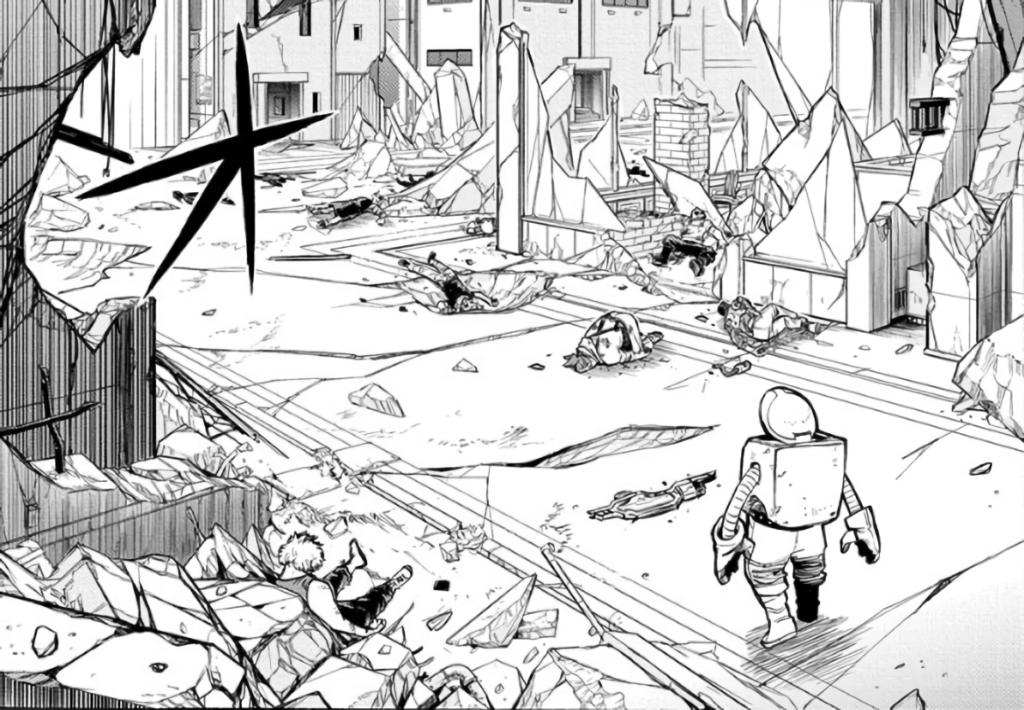 Screenshot from My Hero Academia Chapter 300