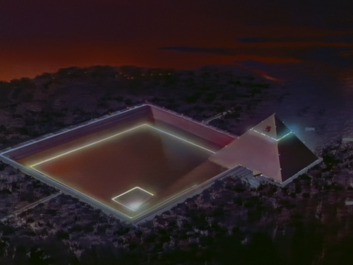 screenshot from anime Neon Genesis Evangelion