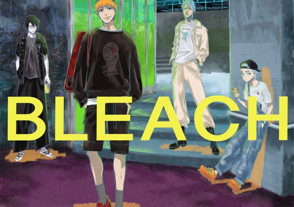 Bleach x Tokyo Girls Collection Collaboration