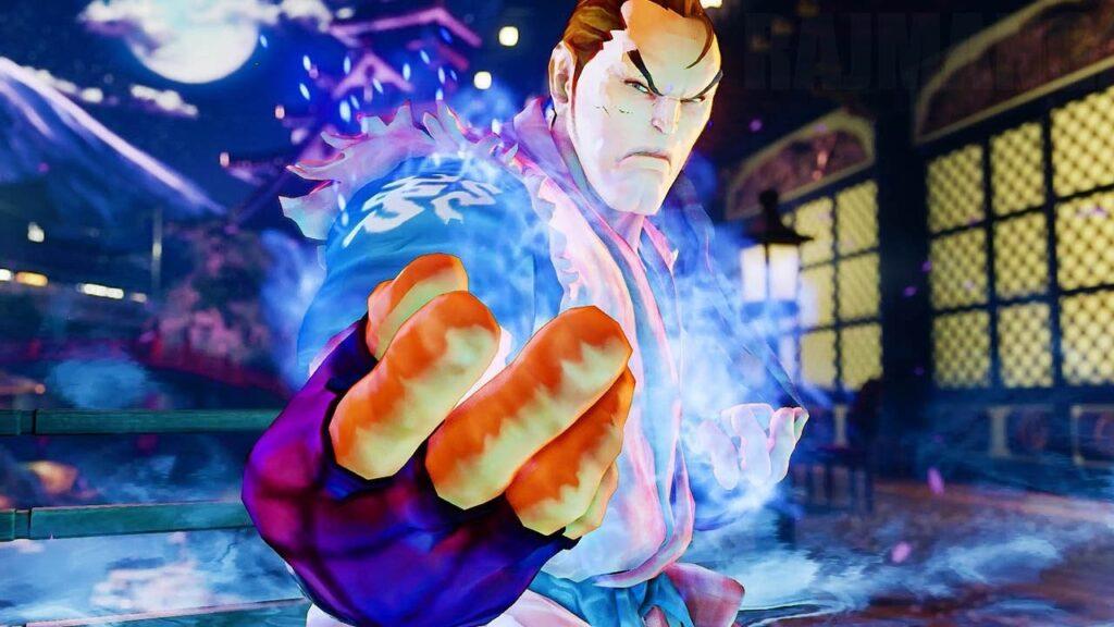 Dan from Street Fighter V Champion Edition