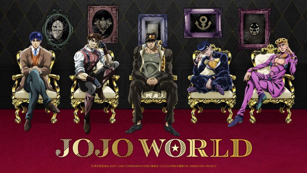 Key visual for JoJo World