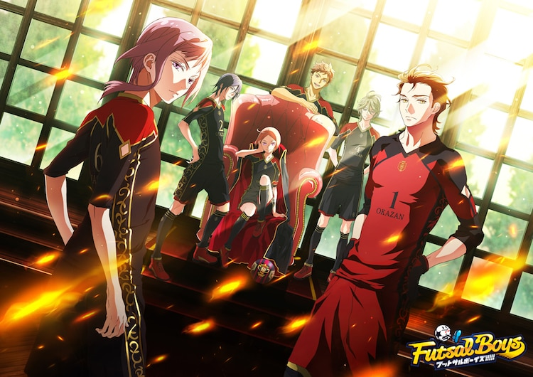 Futsal Boys anime visual