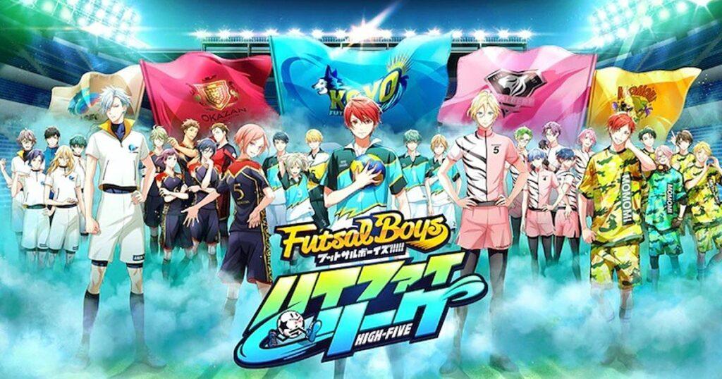 Futsal Boys Mobile Title visual