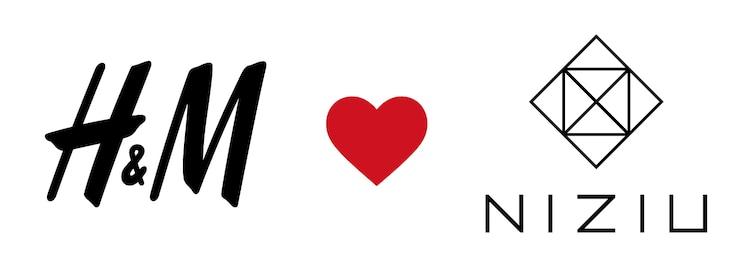 HM loves NIZIU Logo