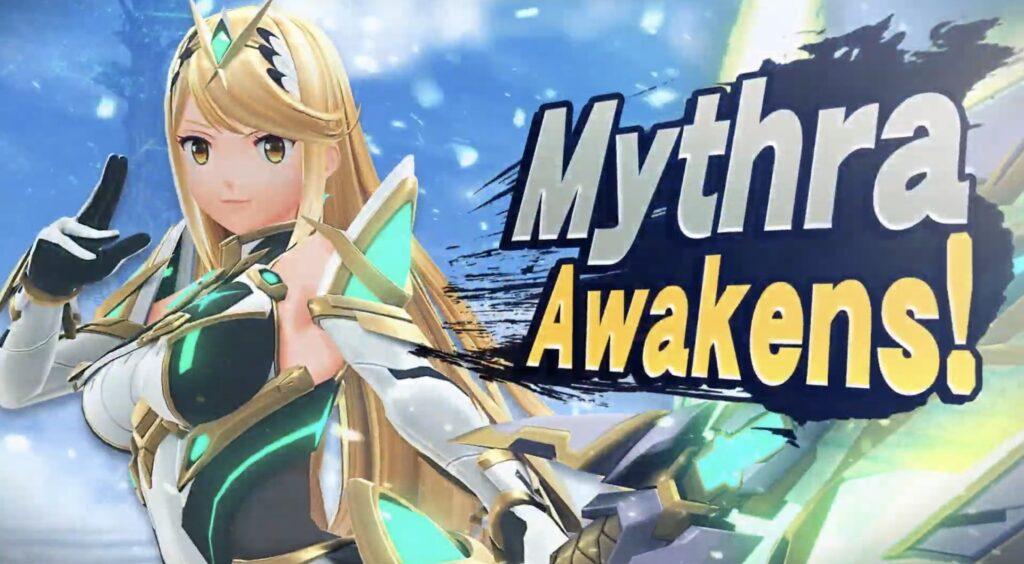 Mythra Super Smash Bros