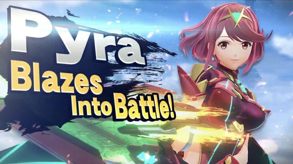 Pyra Super Smash Bros