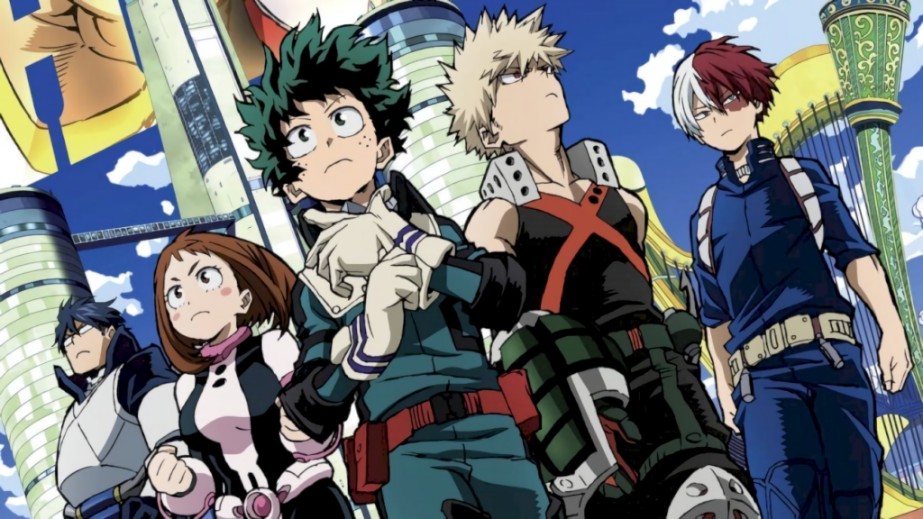 My Hero Academia Anime Visual