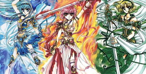 Magic Knight Rayearth manga