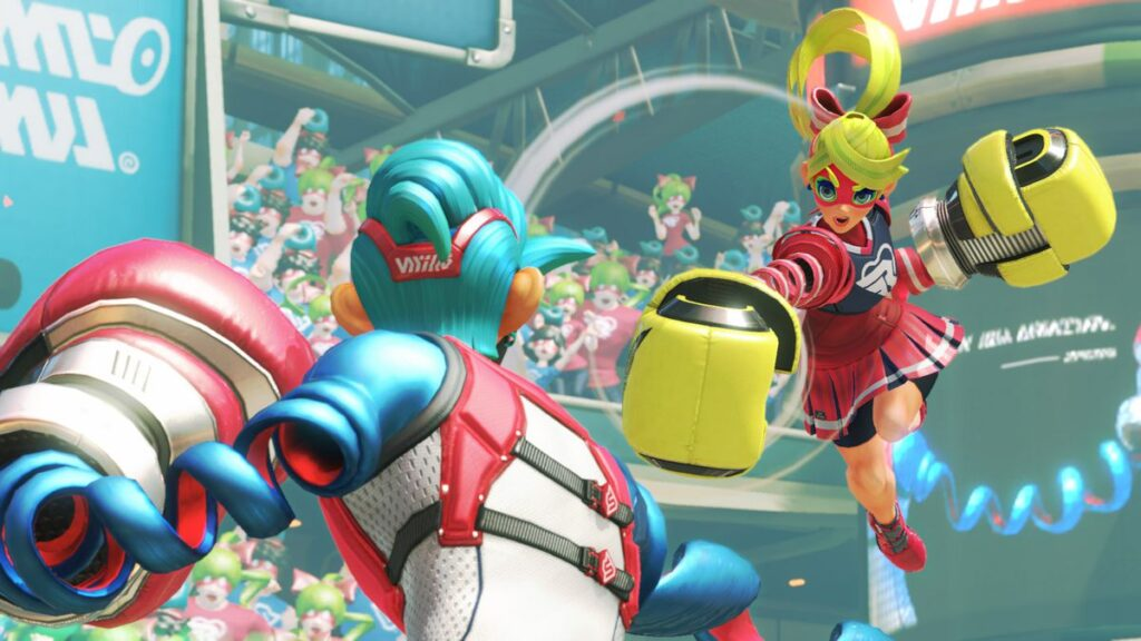 Arms Switch Fighting Game