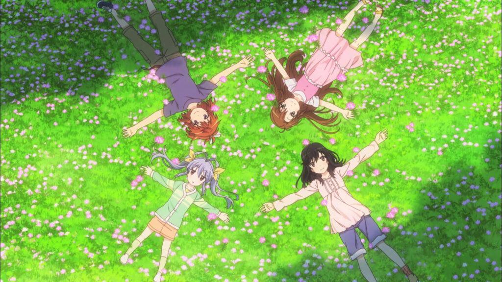 Non Non Biyori comfy (anime like yuru camp)