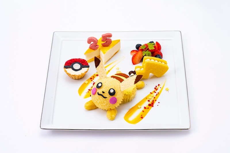 Pikachu Dish Pokemon Cafe