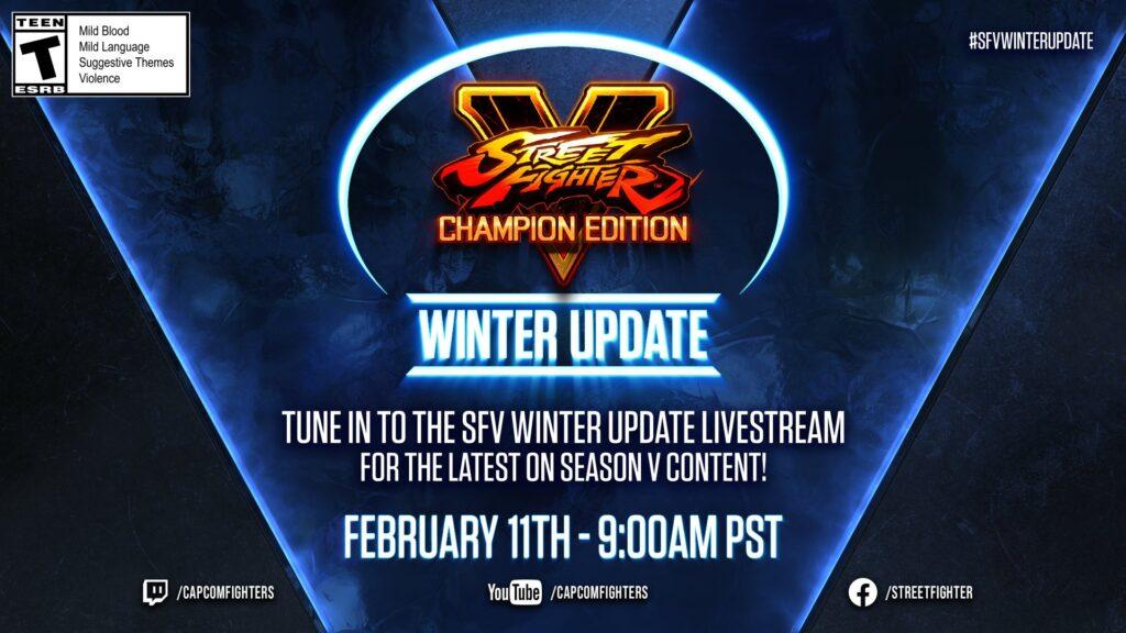 Street Fighter V Champion Edition Winter Update Visual