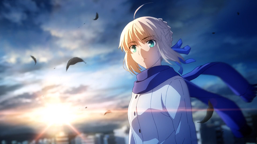 Saber from Fate Series