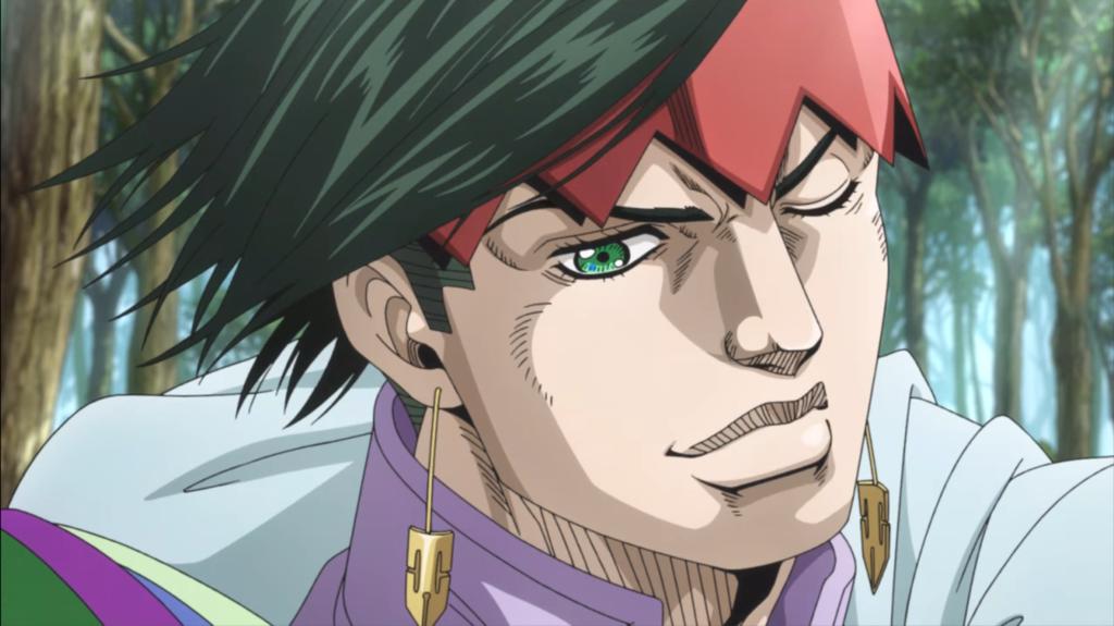 Screenshot from Thus Spoke Kishibe Rohan episode 3