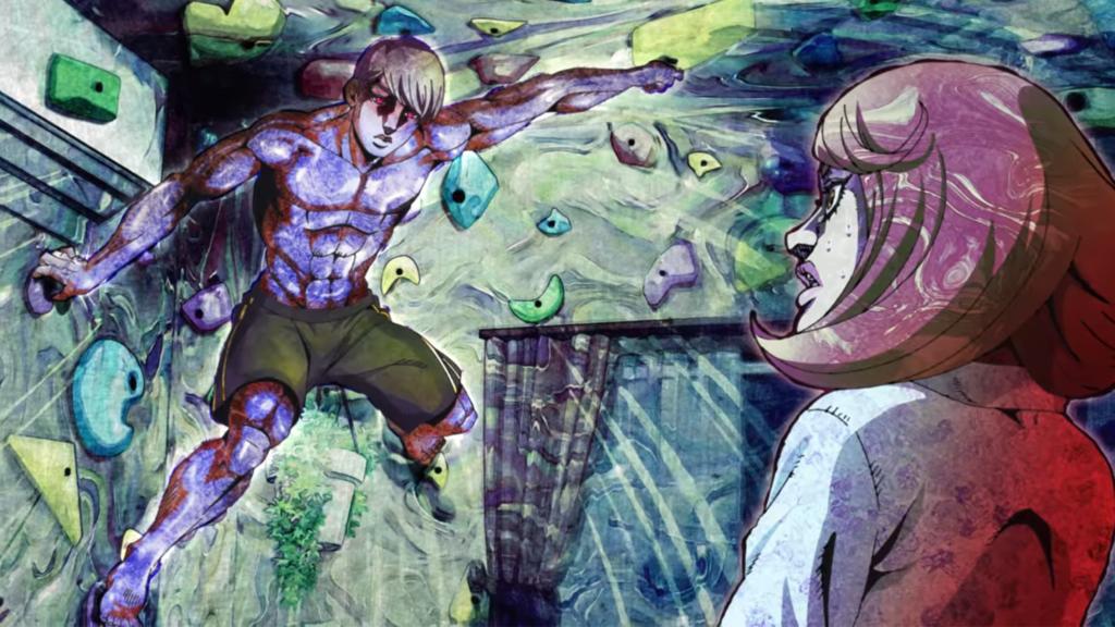 Screenshot from Thus Spoke Kishibe Rohan episode 4