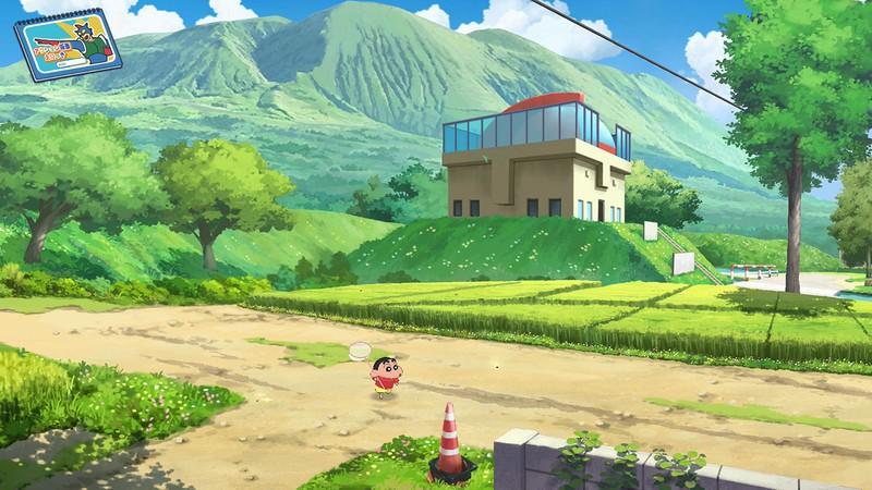 Crayon Shin-chan Game for Switch Screenshot