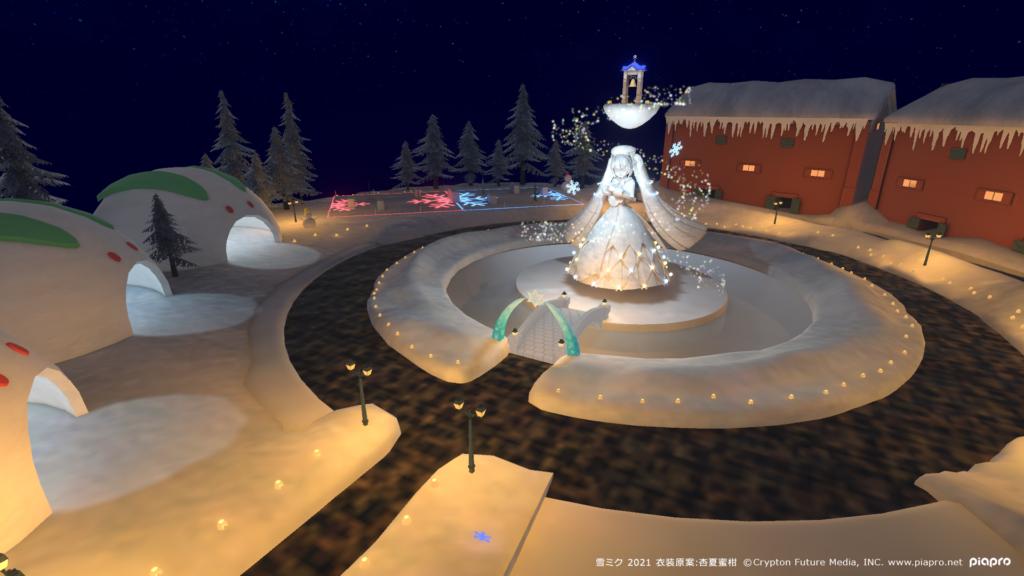 Hatsune Miku Virtual Theme Park MIKU LAND β SNOW WORLD 2021
