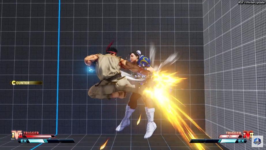 Street Fighter V Winter Update