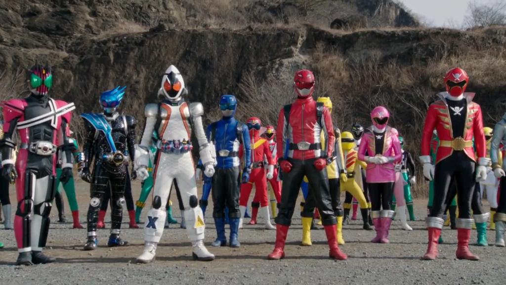 Super Hero Taisen Movie Screenshot